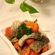 鱼皮炒番茄