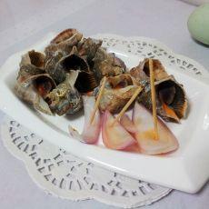 姜汁海螺的做法