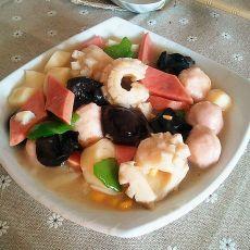 海鲜什锦豆腐