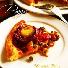海鲜杂烩匹萨