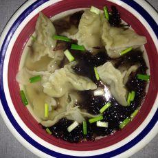 海鲜三角饺