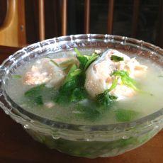 三文鱼丝瓜汤