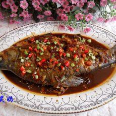 干烧鲳鱼的做法