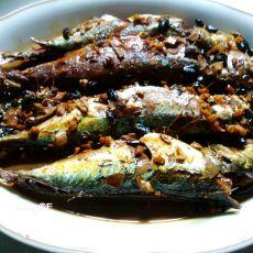 豉香秋刀鱼