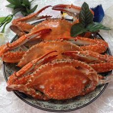 清煮梭子蟹