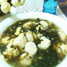 紫菜鱼丸蛋花汤