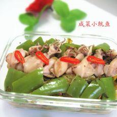 咸菜小鱿鱼