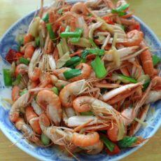 香辣海虾的做法
