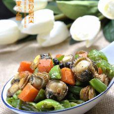 杭椒炒扇贝的做法