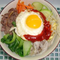 韩式拌饭―无石锅版的