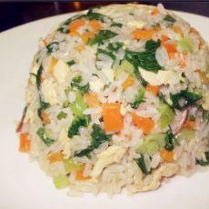 蔬菜炒饭的做法