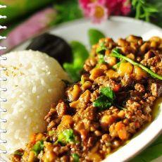 【春天里的100道菜】香菇肉酱饭