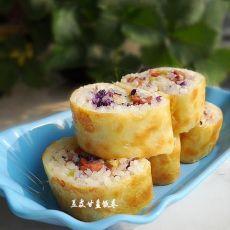 豆皮甘蓝饭卷