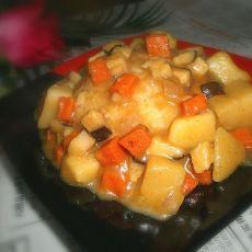 香菇咖喱饭