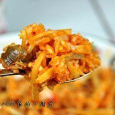 韩式杂拌饭的做法