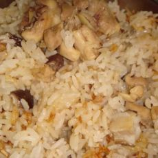 冬菇滑鸡焖饭