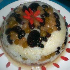 蜜豆八宝饭的做法