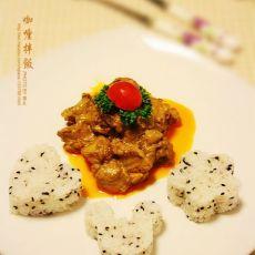 咖喱拌饭的做法