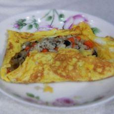 色彩缤纷的主食――蛋包饭