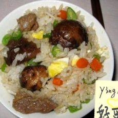 香菇瘦肉�h饭