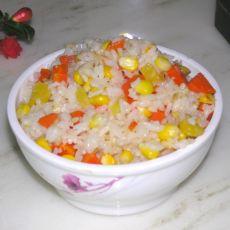 玉米胡萝卜炒饭