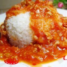 茄汁肉末饭
