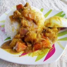 咖喱土豆拌饭