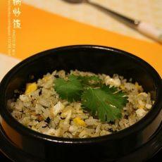 石锅炒饭的做法