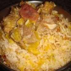 南瓜排骨焖饭的做法