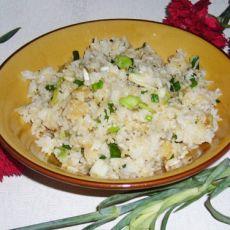 快手餐――葱香酱油炒饭