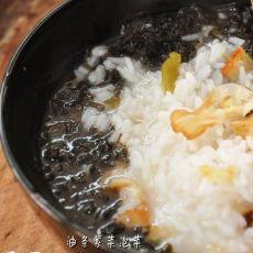 油条紫菜泡饭的做法
