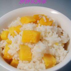 营养午餐--红薯米饭