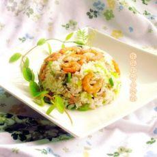芋头鲜虾炒饭