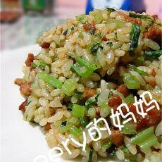 芹菜牛肉炒饭
