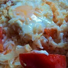 番茄鸡蛋泡饭