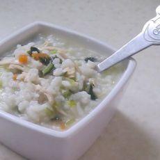 美味鸡丝菜泡饭的做法