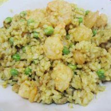 简单美味的虾仁咖喱炒饭
