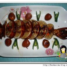 咖喱炒饭酿鱿鱼