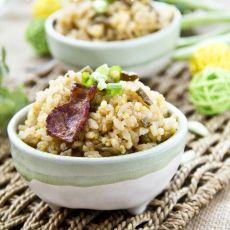 培根豆角焖饭