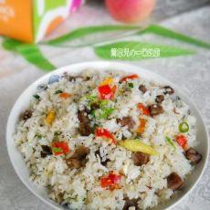 泡菜牛肉炒饭