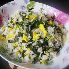 海带蛋炒饭