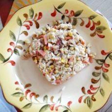 懒人的豪华早午餐--炒饭的做法