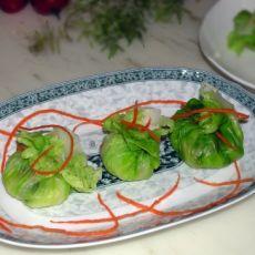 包菜五彩饭团