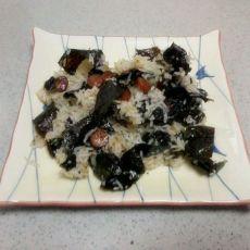 海苔锅巴饭