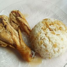 鸡腿燕麦饭