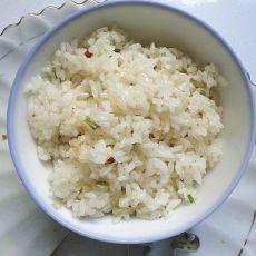 小葱炒米饭