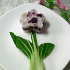 紫薯米饭的做法