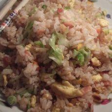 杂菜蛋炒饭