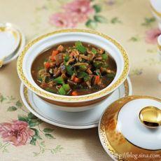 鲍鱼汁蔬菜酱 煎鱼排饭的做法