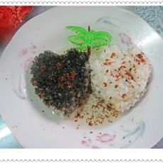 芝麻桂花糯米饭
